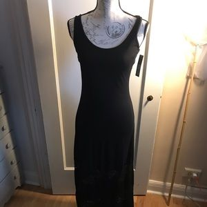 New with tags Apt. 9 Women's Black Dress with lace